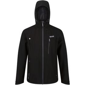 Regatta Birchdale Waterproof Shell Jacket Men black/magnet